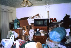 room that is hoarded