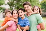 Kids enjoying family time