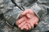 Soldier hands behind back FREE morguefile0001566431353