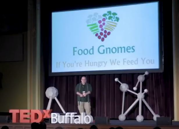 If You're Hungry,  We Feed You: Food Gnomes TEDxBuffalo video – Matthew L. Schwartz